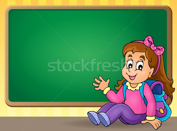 School thematic image 4 Stock photo © clairev