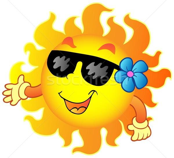 Happy summer Sun 1 Stock photo © clairev
