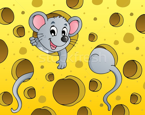 Mouse theme image 1 Stock photo © clairev