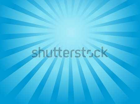 Stock photo: Ray theme abstract background 1