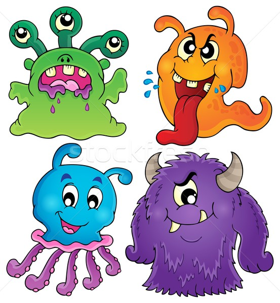 Image with monster theme 1 Stock photo © clairev
