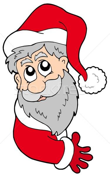 Lurking Santa Claus Stock photo © clairev