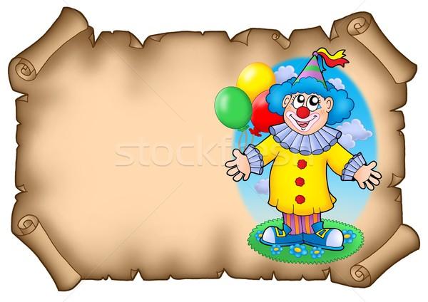 Foto d'archivio: Clown · colore · illustrazione · party · felice