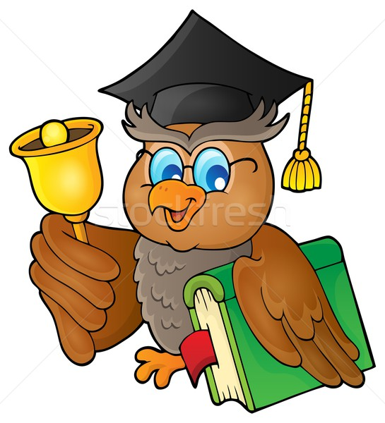 Owl teacher theme image 2 Stock photo © clairev