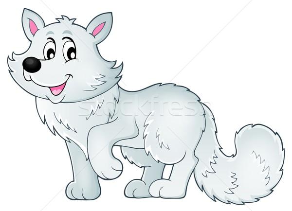 Polar fox theme image 1 Stock photo © clairev