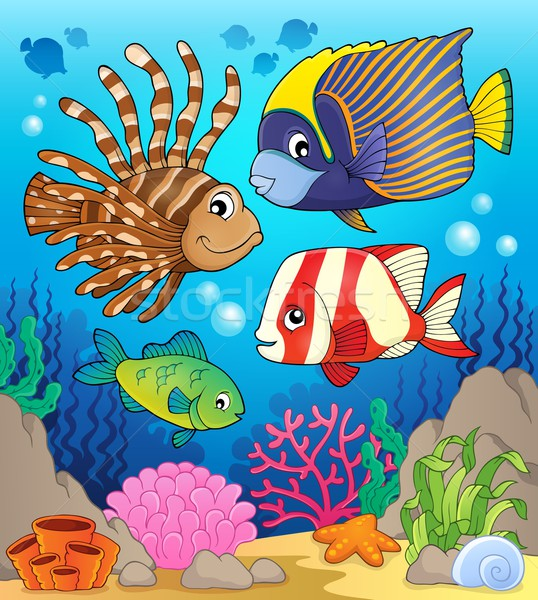 Сток-фото: коралловый · риф · рыбы · изображение · природы · океана · животные