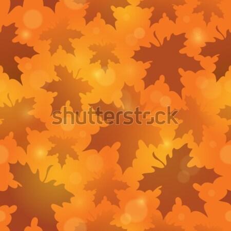 Leafy seamless background 4 Stock photo © clairev