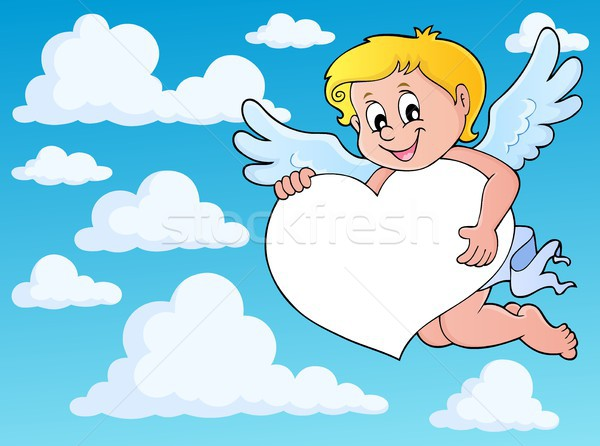 Cupid thematics image 8 Stock photo © clairev