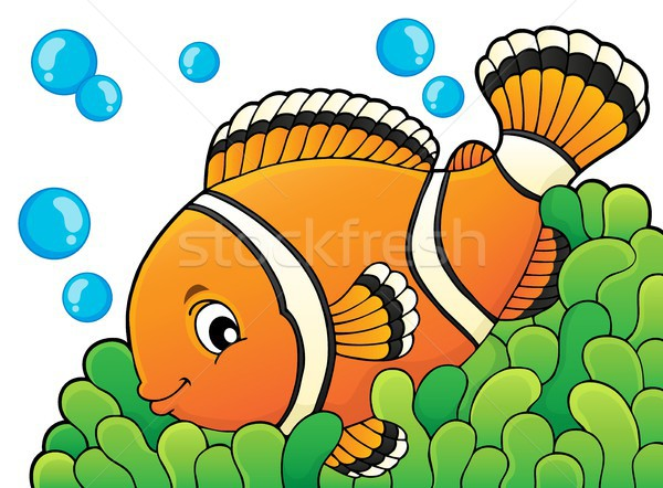 Clownfish topic image 3 Stock photo © clairev