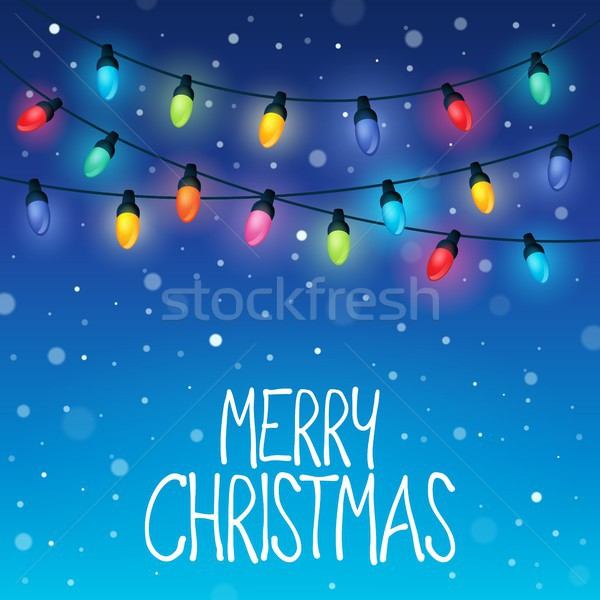 Merry Christmas topic image 8 Stock photo © clairev