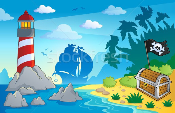 Lighthouse theme image 2 Stock photo © clairev
