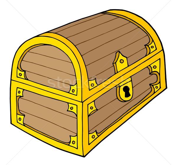 Treasure chest vector illustration Stock photo © clairev