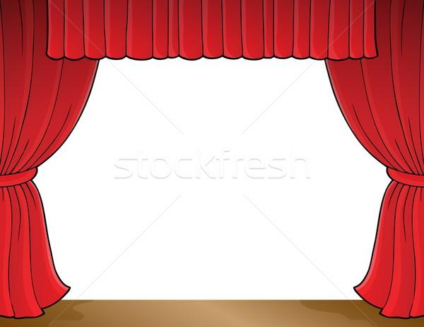 Stage theme image 1 Stock photo © clairev