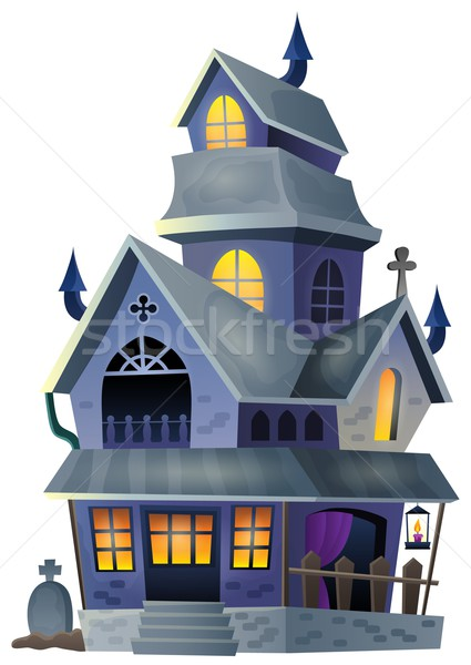 Image with haunted house thematics 1 Stock photo © clairev