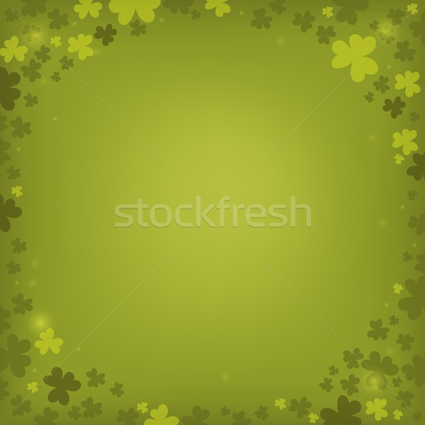 Three leaf clover abstract background 6 Stock photo © clairev
