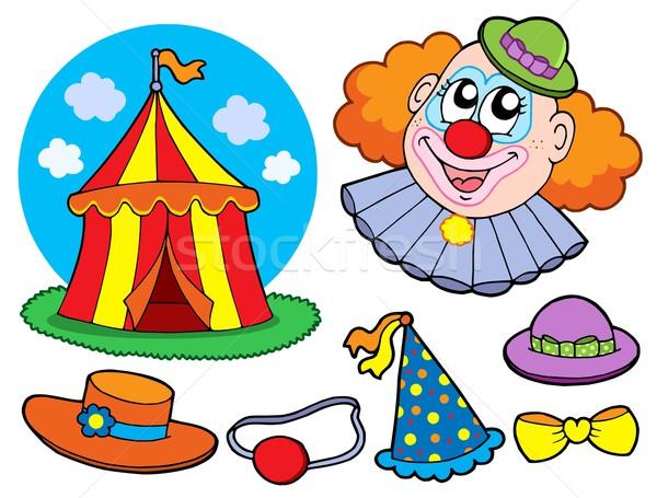 Circus clown collection Stock photo © clairev