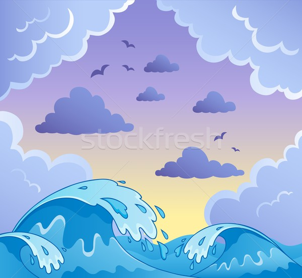 Waves theme image 2 Stock photo © clairev