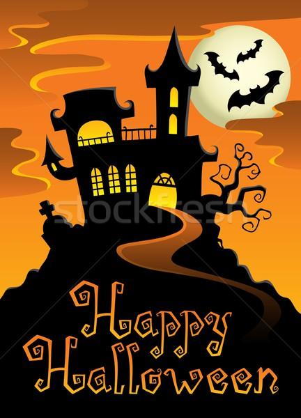 Happy Halloween topic image 1 Stock photo © clairev