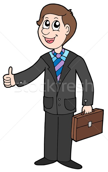 Smiling businessman Stock photo © clairev