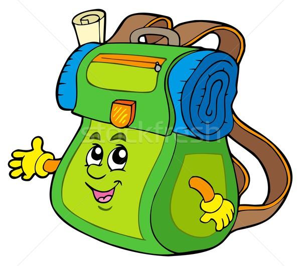 Картинка рюкзак рисованный