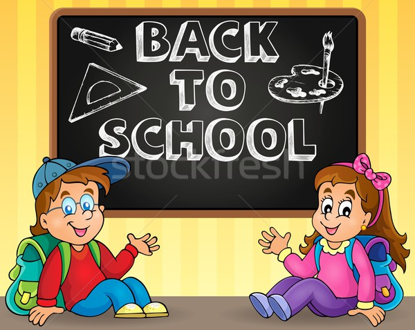 Back to school thematic image 9 Stock photo © clairev