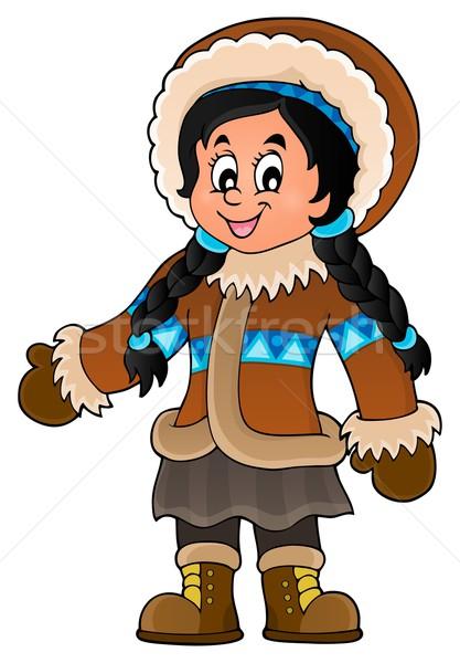 Inuit theme image 3 Stock photo © clairev