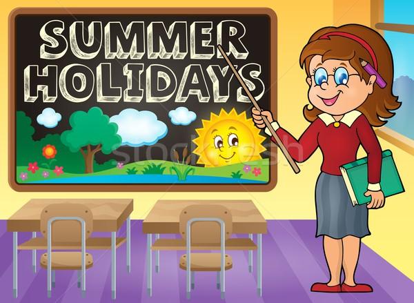 School holidays theme image 7 Stock photo © clairev