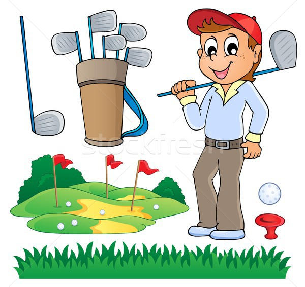 Image with golf theme 6 Stock photo © clairev