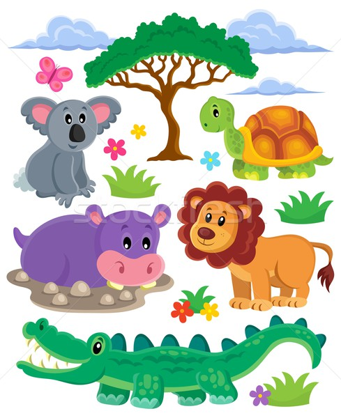 Animals topic collection 1 Stock photo © clairev