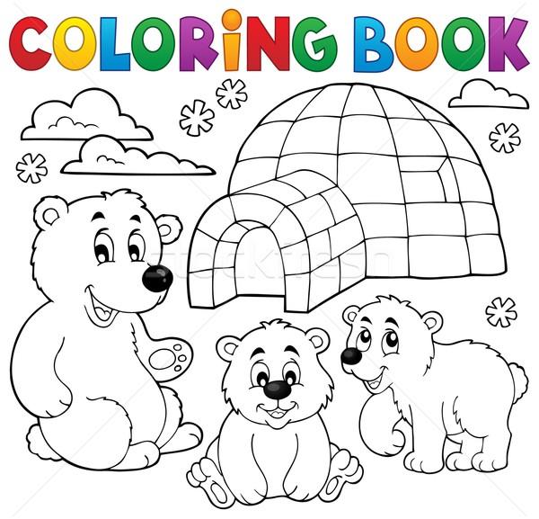 Carte De Colorat Polar Carte Fericit Vopsea