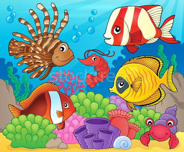 Coral fauna theme image 8 Stock photo © clairev