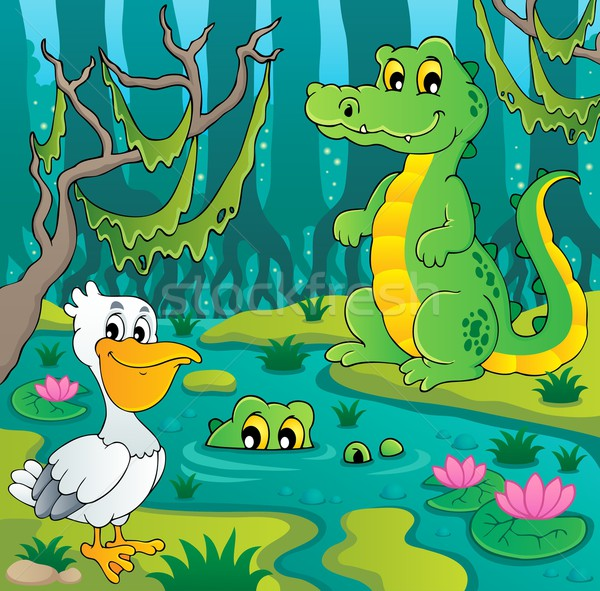 Swamp theme image 3 Stock photo © clairev