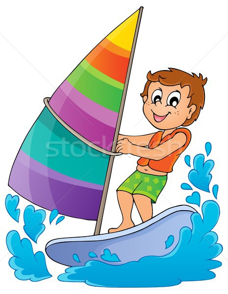Water sport theme image 1 Stock photo © clairev