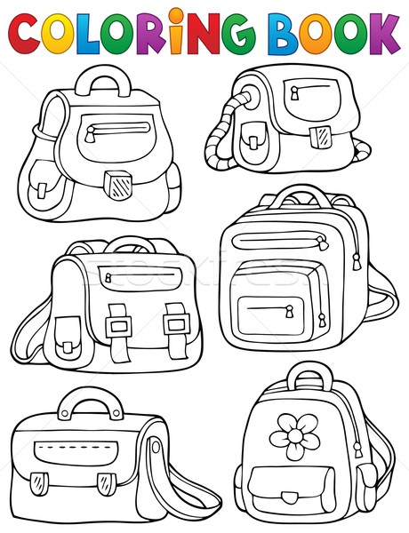 Book bag Stock Photos, Stock Images and Vectors   Stockfresh