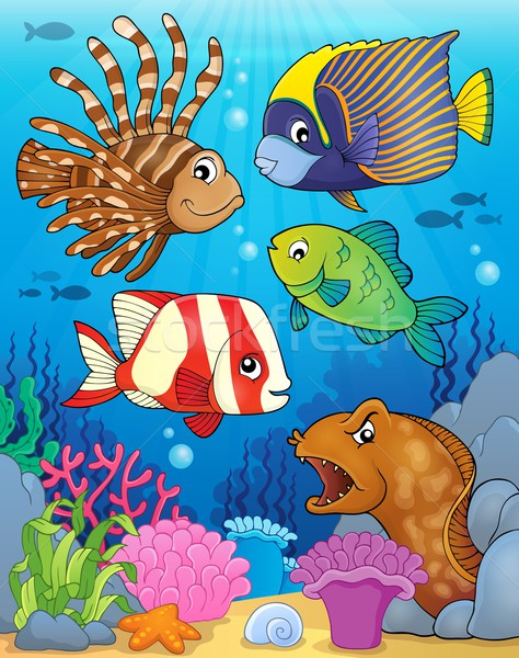 Ocean fauna topic image 5 Stock photo © clairev