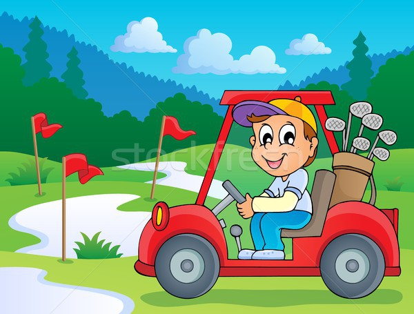 Image with golf theme 5 Stock photo © clairev