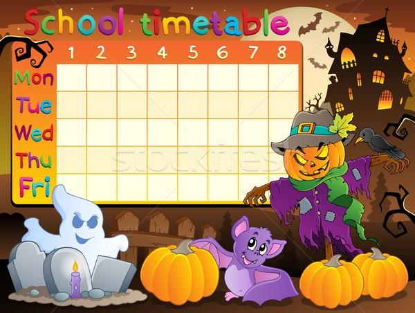 School timetable topic image 2 Stock photo © clairev
