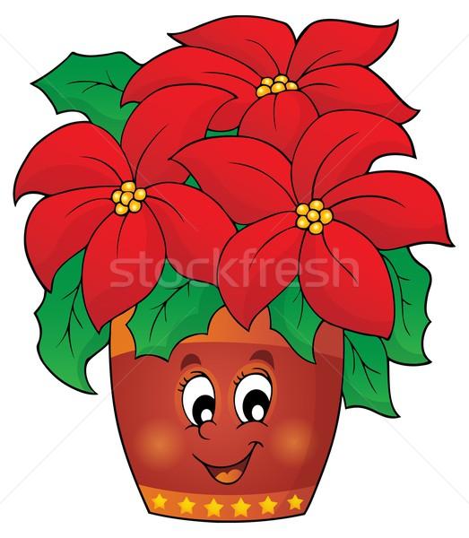 Foto stock: Natal · flor · imagem · projeto · folha · arte