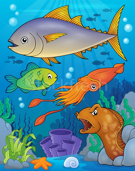 Ocean fauna topic image 6 Stock photo © clairev