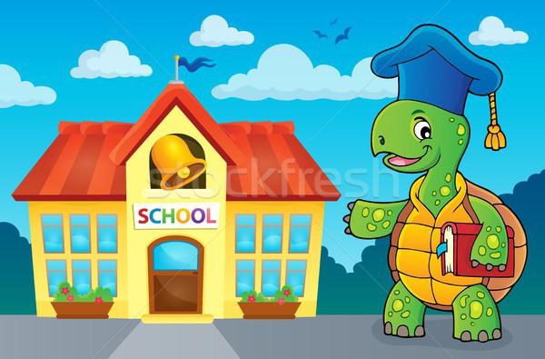 Turtle teacher theme image 3 Stock photo © clairev