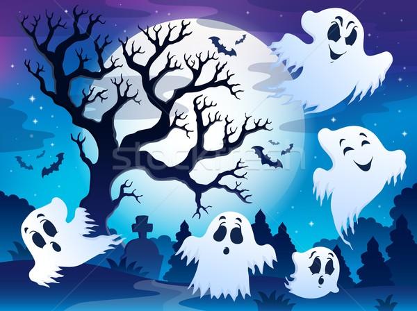 Spooky tree theme image 5 Stock photo © clairev