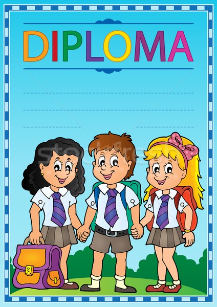 Diploma topic image 6 Stock photo © clairev