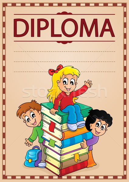 Diploma topic image 7 Stock photo © clairev