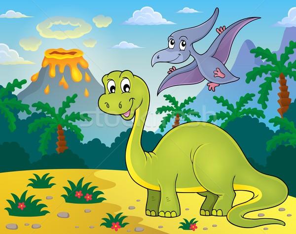 Dinosaur topic image 2 Stock photo © clairev