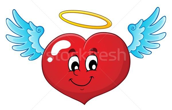 Valentine heart topic image 4 Stock photo © clairev