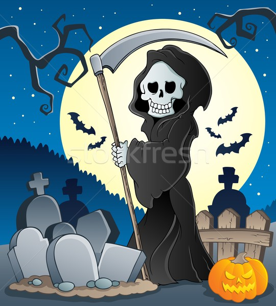 Grim reaper theme image 5 Stock photo © clairev