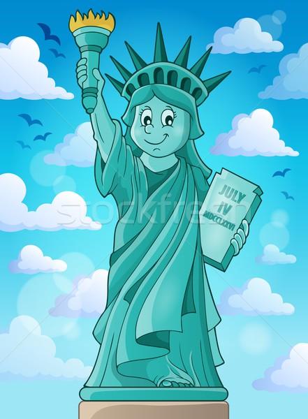 Statue of Liberty theme image 3 Stock photo © clairev