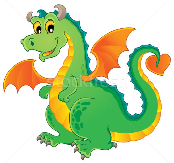 Dragon theme image 1 Stock photo © clairev