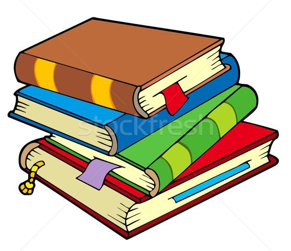 4 古い 図書 図書 芸術 ストックフォト © clairev