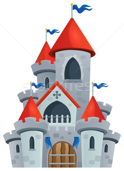 Fairy tale castle theme image 1 Stock photo © clairev